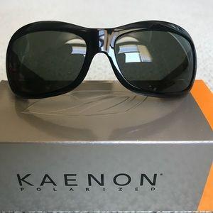 aad035607f93 Kaenon Georgia Black Polarized Sunglasses for sale
